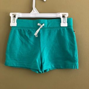 Teal Carter's knit shorts 6
